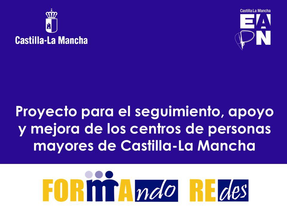 Proyecto para el seguimiento, apoyo y mejora de los centros de personas mayores de Castilla-La Mancha