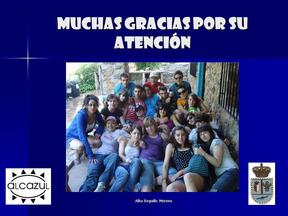 Alba Reguillo Moreno Muchas gracias por su atención