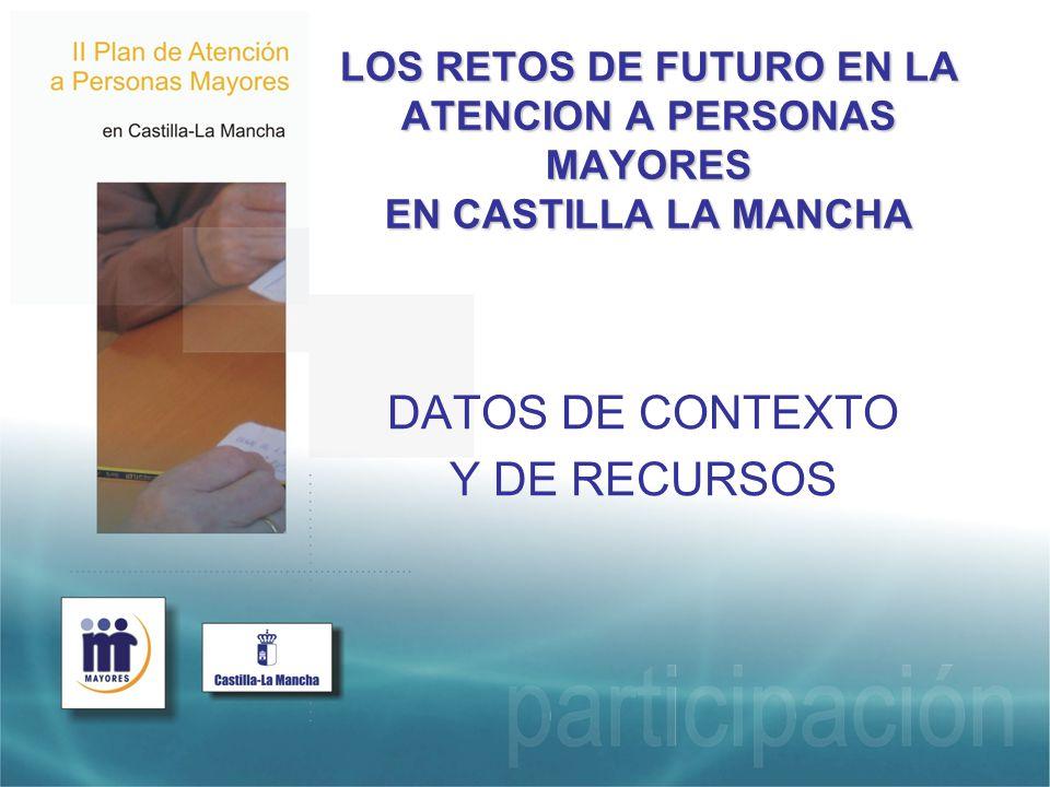 RED DE CENTROS DE MAYORES ANTE LOS RETOS DE FUTURO Concreción de Red de Centros de Mayores.