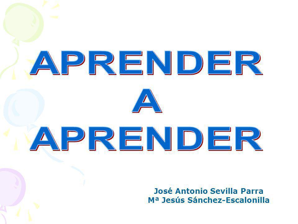 José Antonio Sevilla Parra Mª Jesús Sánchez-Escalonilla