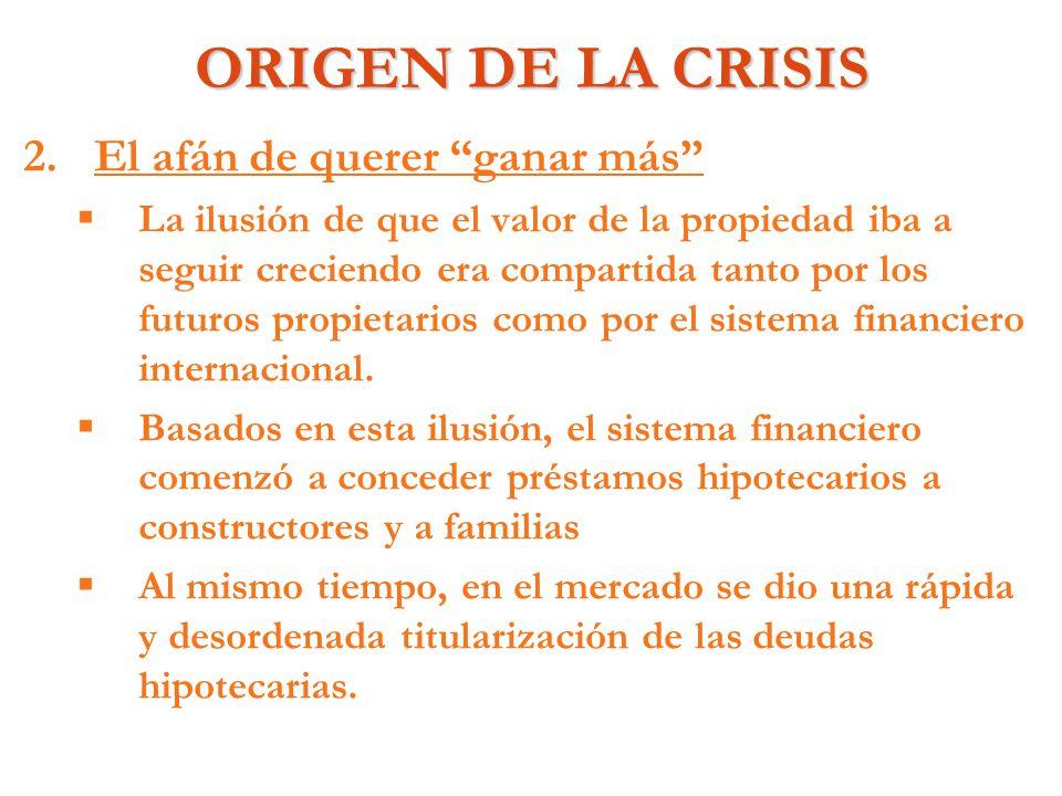 REFLEXIONES EN TORNO A LA CRISIS 3.