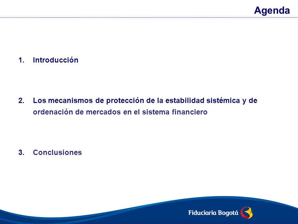 Los mercados financieros organizados requieren de un entorno legal e iunstitucional que asegure un funcionamiento justo, eficiente y transparente.