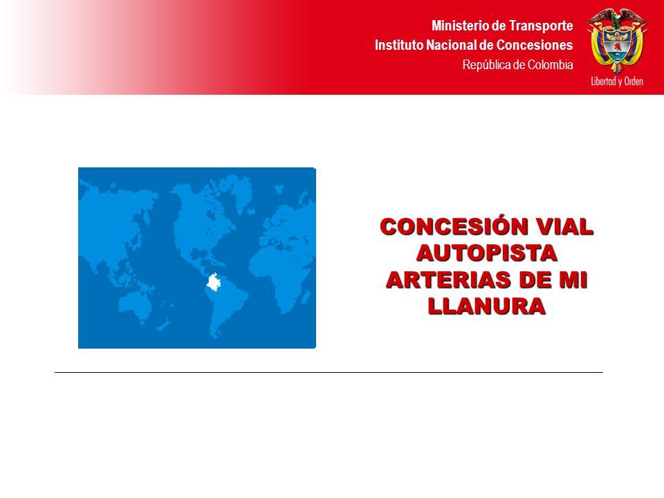 Ministerio de Transporte Instituto Nacional de Concesiones República de Colombia Rehabilitación Calzada Existente La Estaca – Párate Bueno.