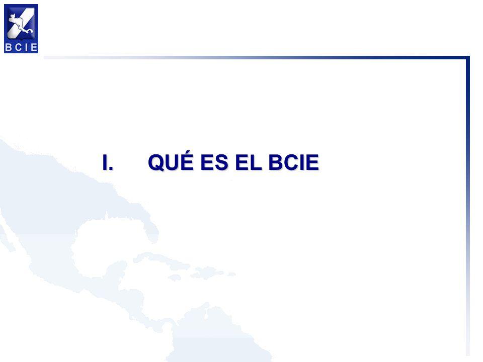 QUÉ ES EL BCIE I.