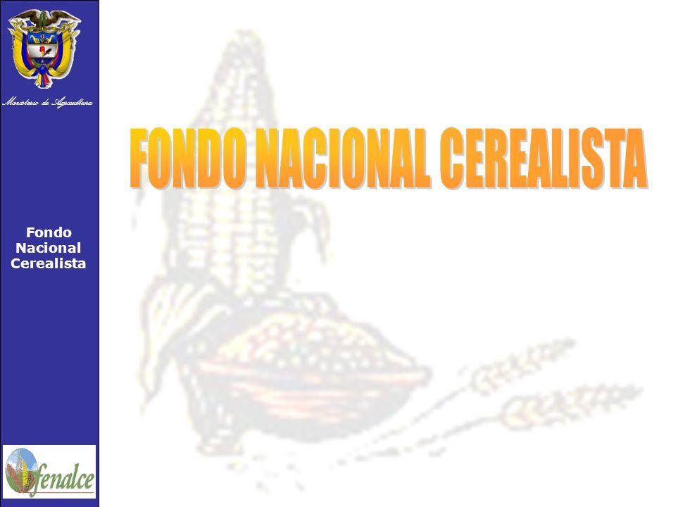 Ministerio de Agricultura Fondo Nacional Cerealista