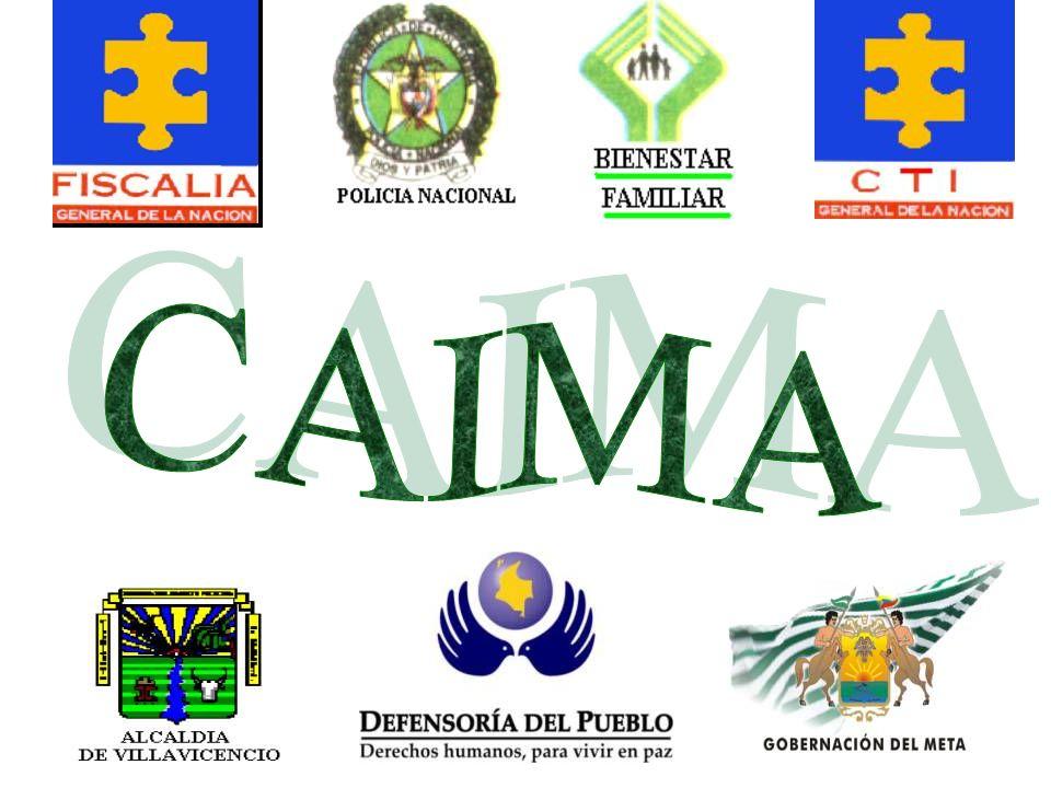 EQUIPO DE TRABAJO CAIMA INSTALACIONES CAIMA VALORACIÓN PSICOLOGICA RECEPCIÓN CAIMA