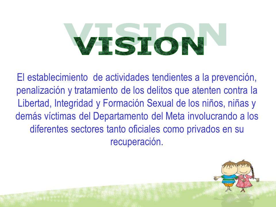 El establecimiento de actividades tendientes a la prevención, penalización y tratamiento de los delitos que atenten contra la Libertad, Integridad y F