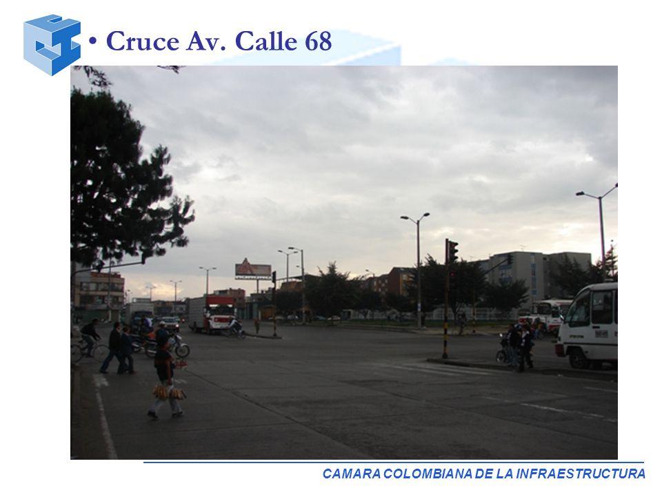CAMARA COLOMBIANA DE LA INFRAESTRUCTURA Cruce Av. Calle 68
