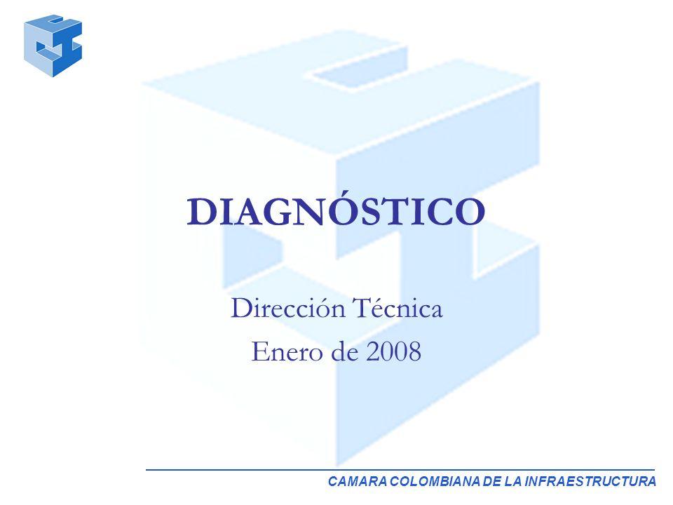 CAMARA COLOMBIANA DE LA INFRAESTRUCTURA DIAGNÓSTICO Dirección Técnica Enero de 2008