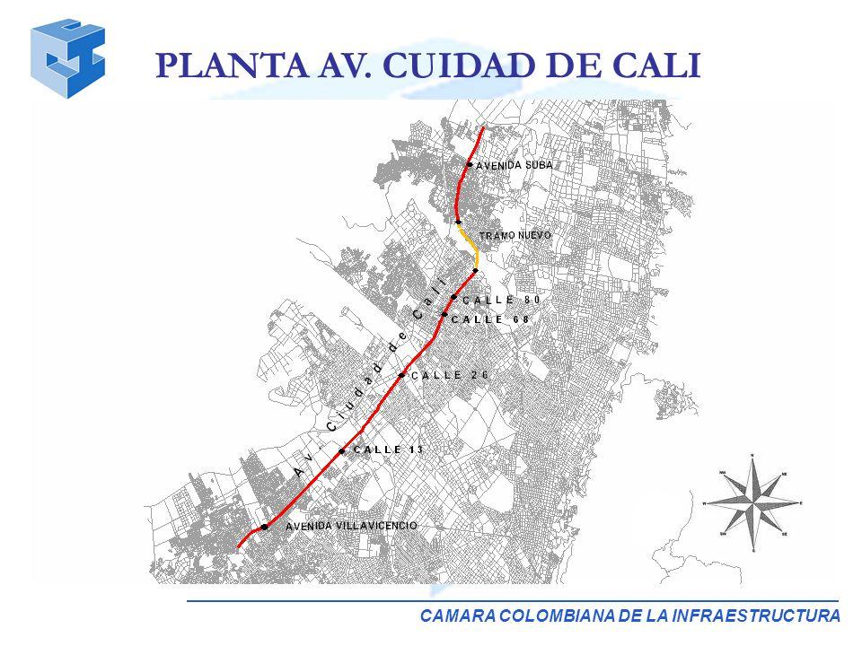 CAMARA COLOMBIANA DE LA INFRAESTRUCTURA PLANTA AV. CUIDAD DE CALI
