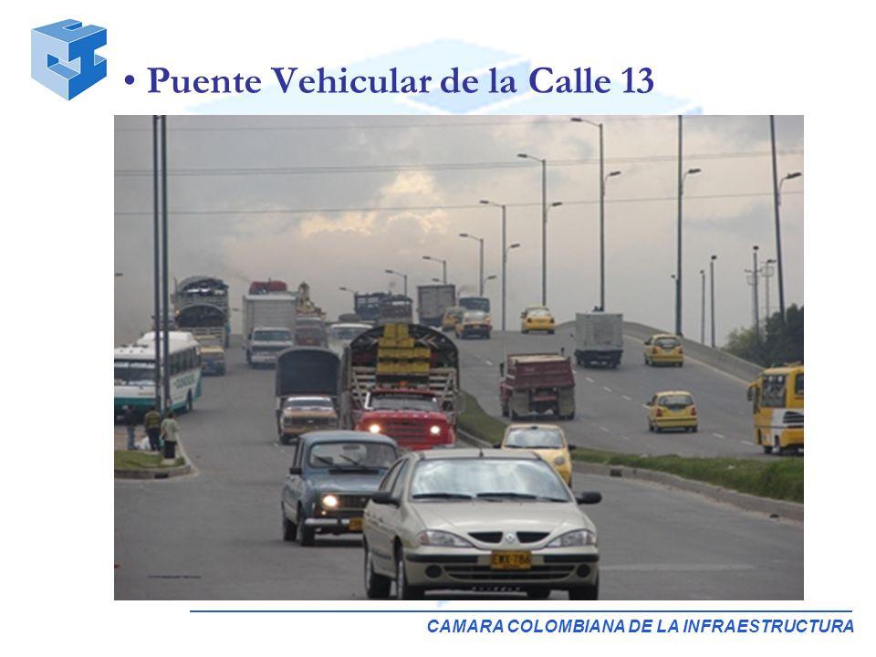 CAMARA COLOMBIANA DE LA INFRAESTRUCTURA Puente Vehicular de la Calle 13