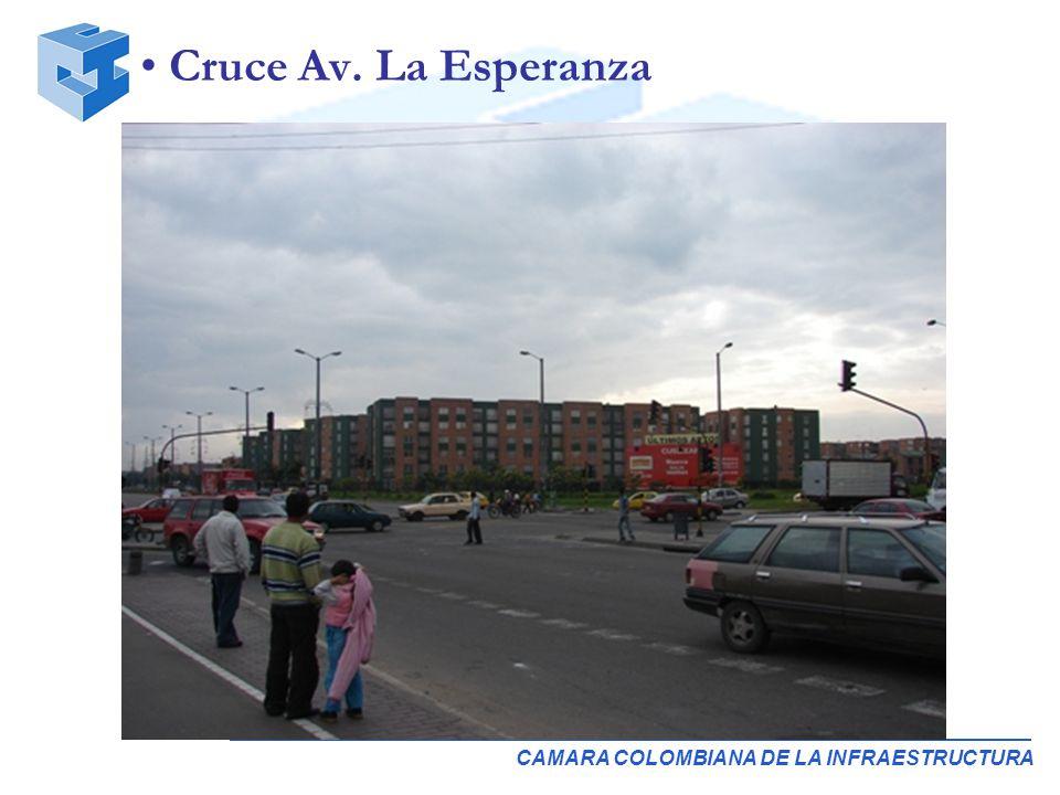 CAMARA COLOMBIANA DE LA INFRAESTRUCTURA Cruce Av. La Esperanza