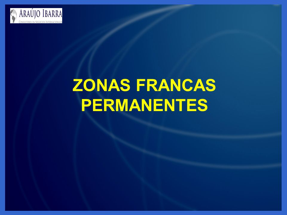 ZONAS FRANCAS PERMANENTES