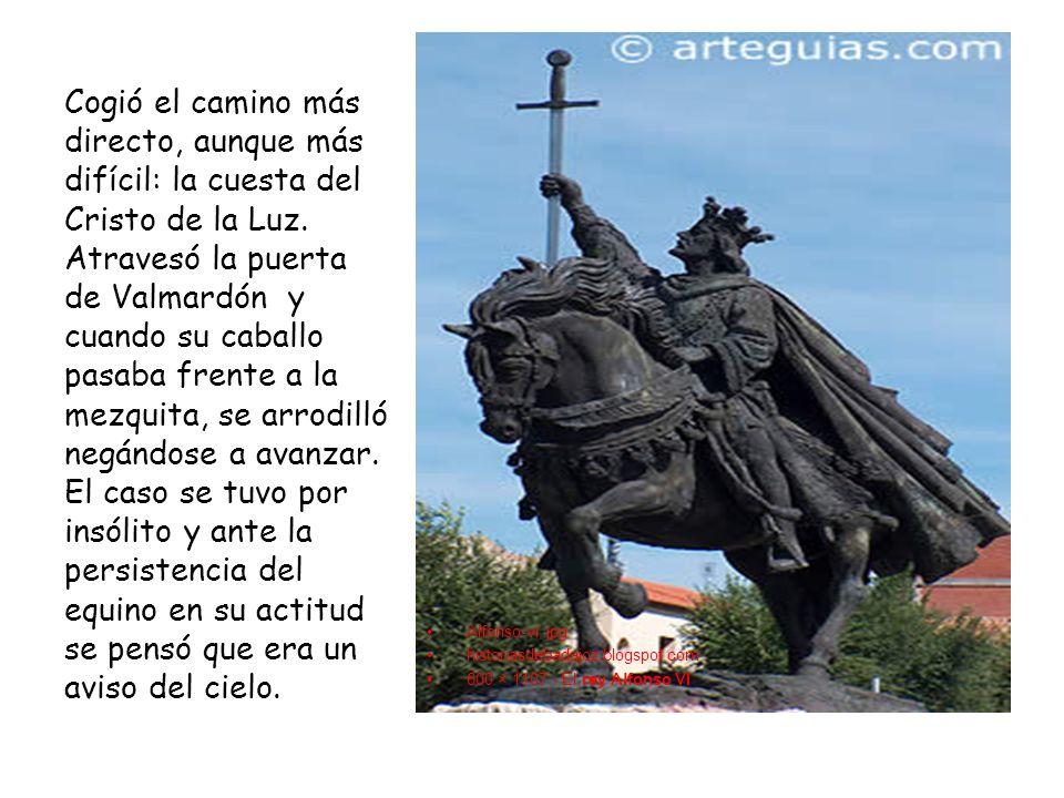 Alfonso-vi. jpg historiasdebadajoz.blogspot.com 600 × 1107 - El rey Alfonso VI Cogió el camino más directo, aunque más difícil: la cuesta del Cristo d