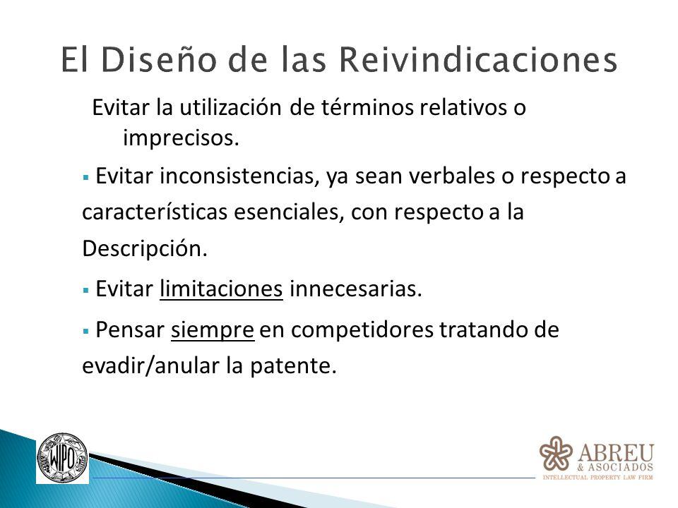 EJEMPLO REDACCION REIVINDICACIONES DE PATENTES BIOTECNOLÓGICAS: Por Ejemplo: 1.