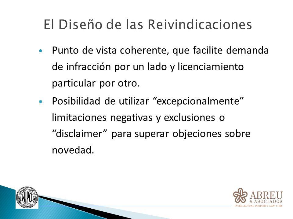 Utilizar diferentes categorías y/o tipos específicos de reivindicaciones, considerando siempre la unidad de invención (posibilidad de presentar solicitudes divisionales).