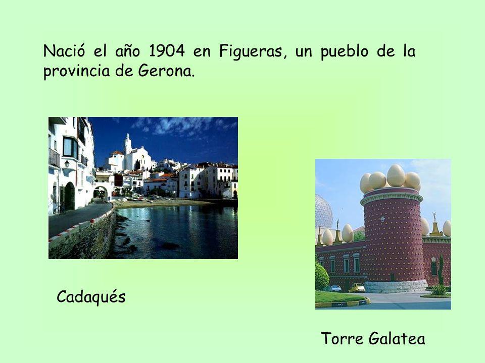 Nació el año 1904 en Figueras, un pueblo de la provincia de Gerona. Torre Galatea Cadaqués