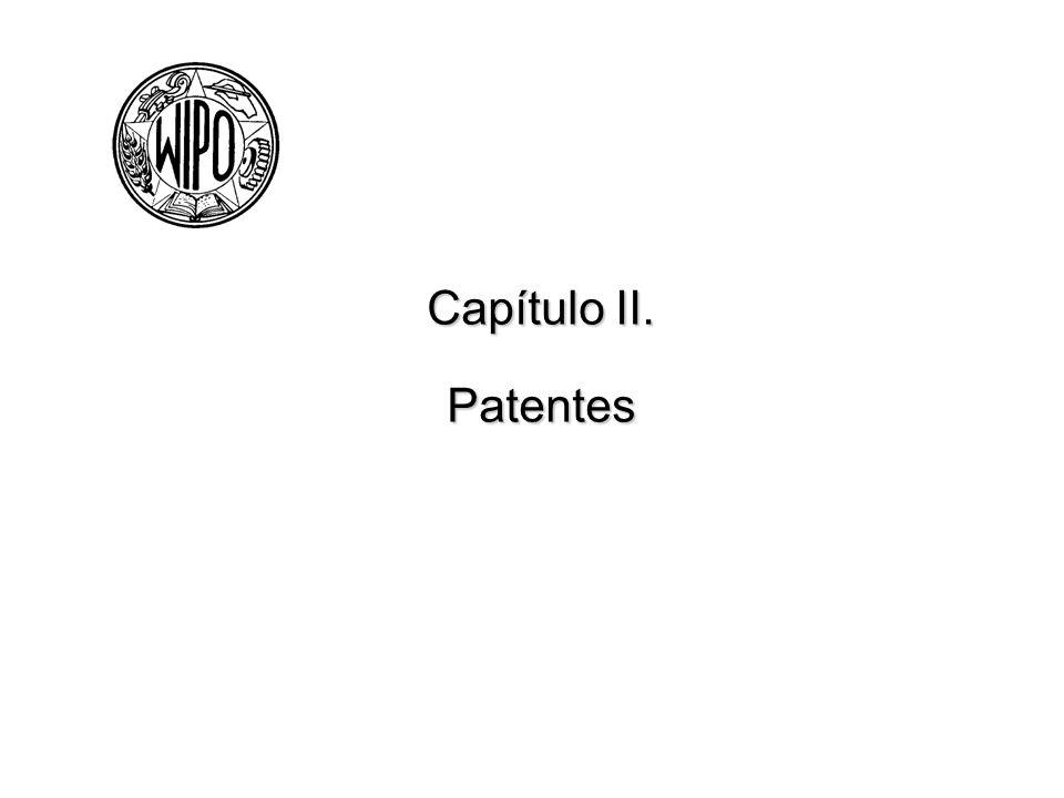 Capítulo II. Patentes