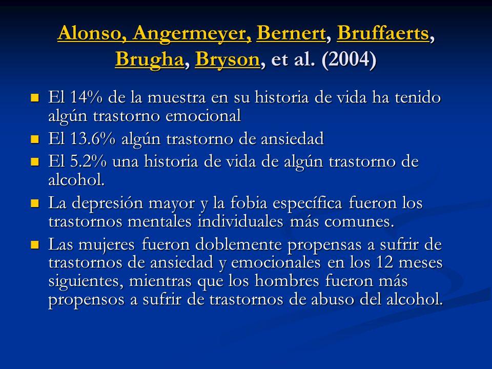 Alonso, Angermeyer,Alonso, Angermeyer, Bernert, Bruffaerts, Brugha, Bryson, et al. (2004) BernertBruffaerts BrughaBryson Alonso, Angermeyer,BernertBru