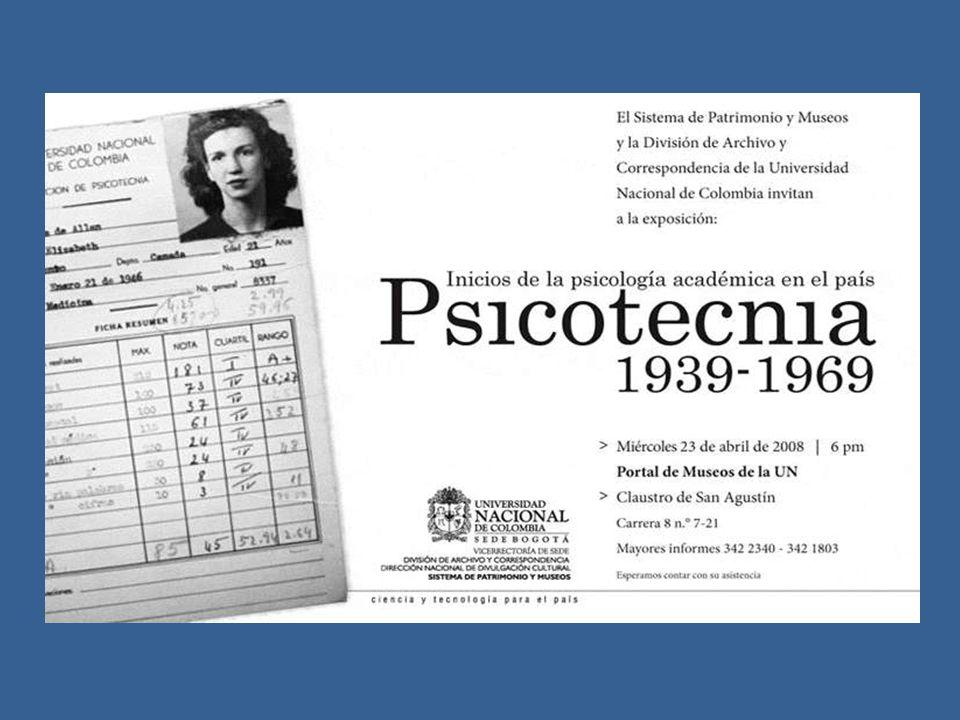 En el año 1939, llega a Colombia invitada por el Doctor Agustín Nieto Caballero, Rector de la Universidad Nacional, durante la presidencia liberal de Eduardo Santos (1938-1941).