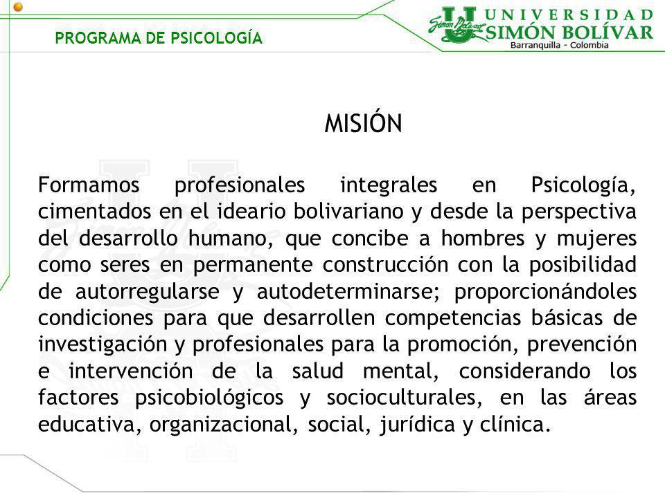 GRUPOS DE INVESTIGACION PROGRAMA DE PSICOLOGÍA