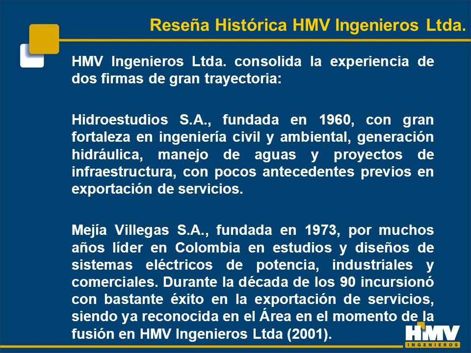 HMV Ingenieros Ltda.