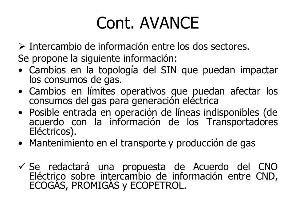 Intercambio de información entre los dos sectores.