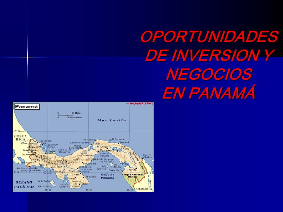 Diversifique sus mercados ……..Explore el mercado de Panamá………..