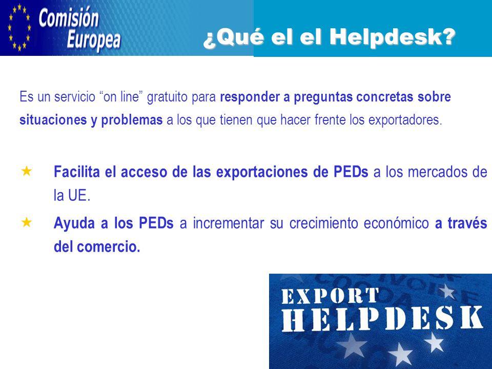 Es un servicio on line gratuito para responder a preguntas concretas sobre situaciones y problemas a los que tienen que hacer frente los exportadores.