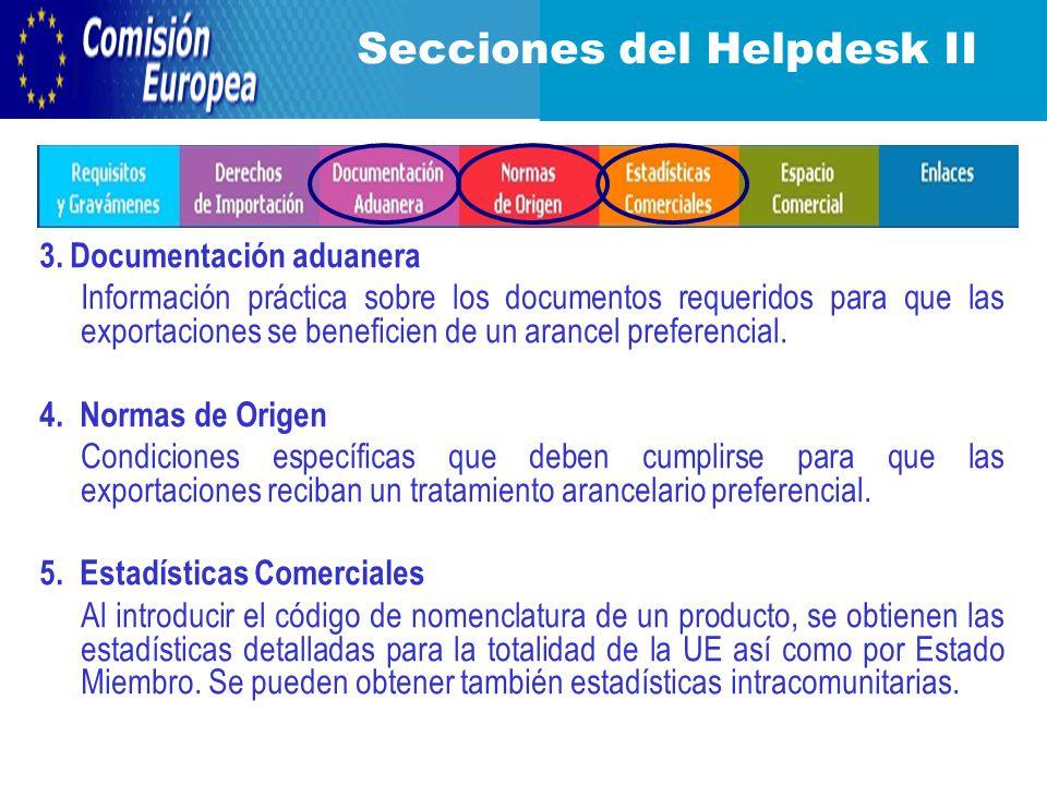 3. Documentación aduanera Información práctica sobre los documentos requeridos para que las exportaciones se beneficien de un arancel preferencial. 4.