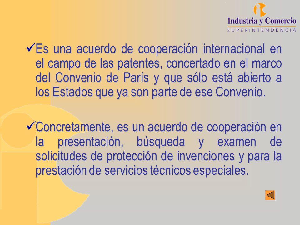 FUNCIONES OFICINA RECEPTORA (Superintendencia de Industria y Comercio) Especificar las Administraciones de Búsqueda y Examen Preliminar Internacional.Especificar las Administraciones de Búsqueda y Examen Preliminar Internacional.