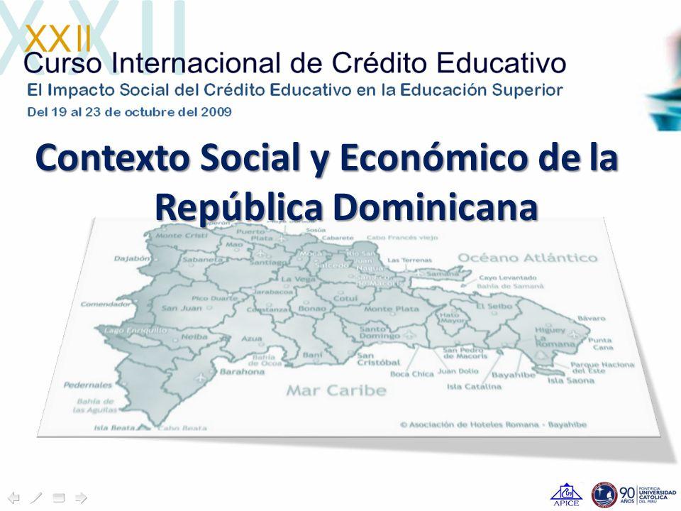 Contexto Social y Económico de la República Dominicana