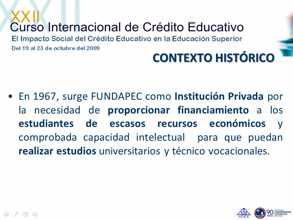 IMPACTO SOCIOECONÓMICO DE FUNDAPEC FUNDAPEC, es en un 62% femenina La población estudiantil de educación superior en FUNDAPEC, es en un 62% femenina