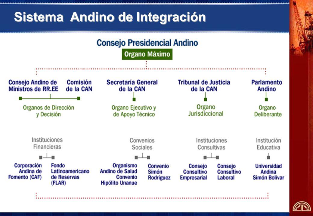9 Sistema Andino de Integración