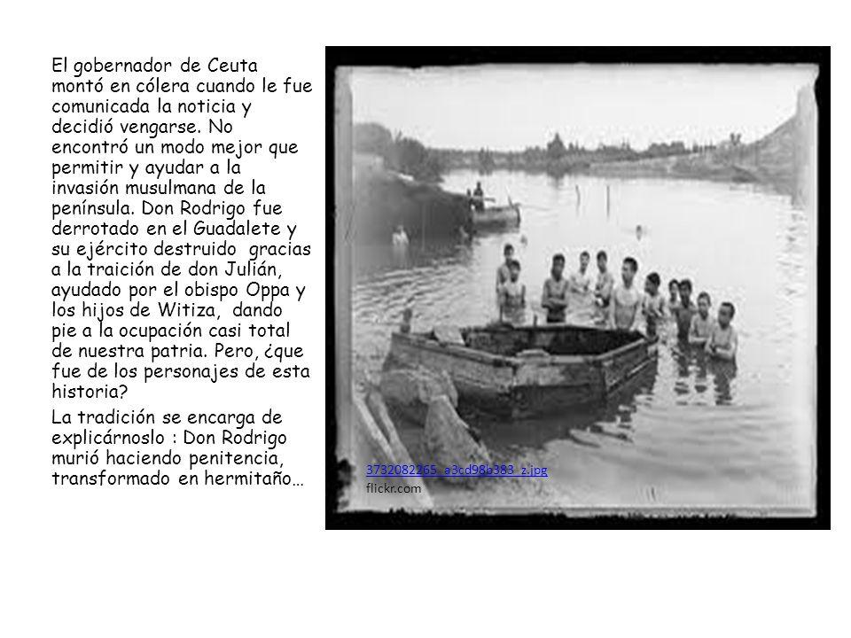 3732082265_a3cd98b383_z.jpg flickr.com El gobernador de Ceuta montó en cólera cuando le fue comunicada la noticia y decidió vengarse. No encontró un m