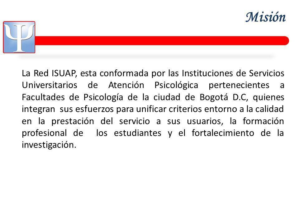 Objetivo General Caracterizar la población de usuarios de los Centros de Atención Psicológica de las Facultades de Psicología de la ciudad de Bogotá y su relación con los motivos de consulta