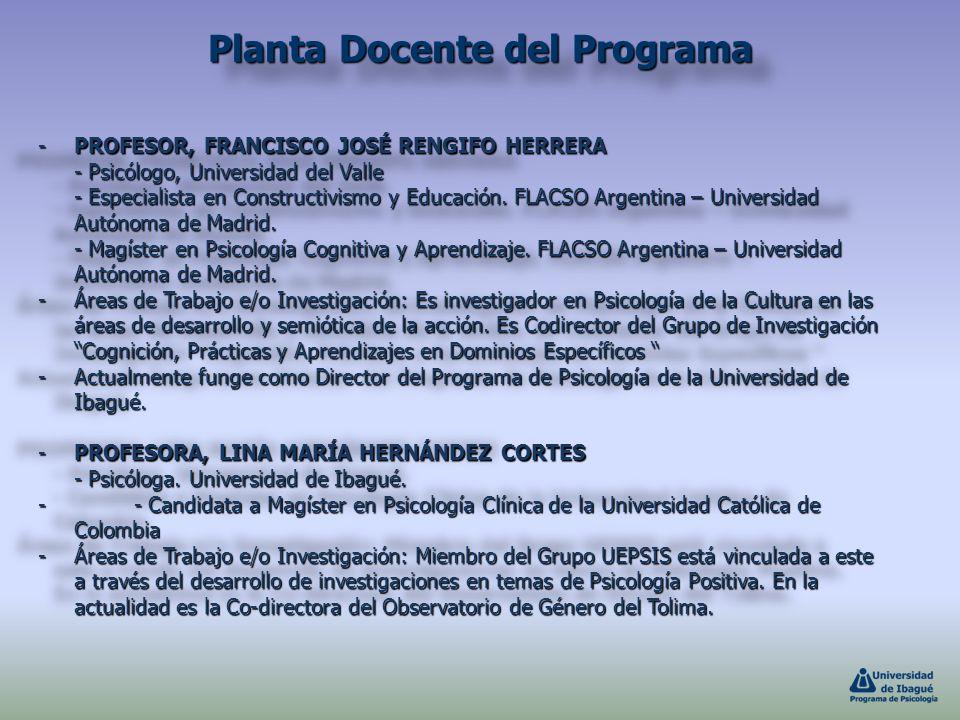 -PROFESOR, FRANCISCO JOSÉ RENGIFO HERRERA - Psicólogo, Universidad del Valle - Especialista en Constructivismo y Educación. FLACSO Argentina – Univers