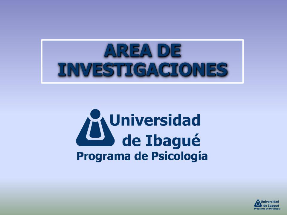 AREA DE INVESTIGACIONES
