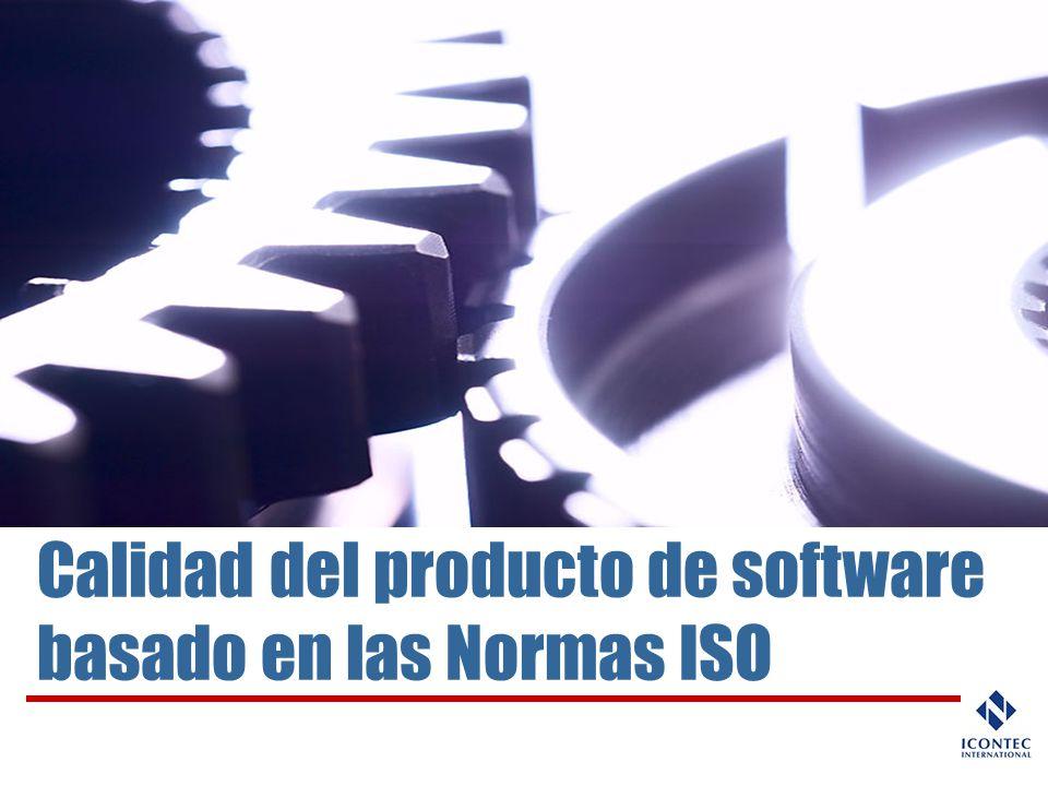 Calidad del producto de software basado en las Normas ISO