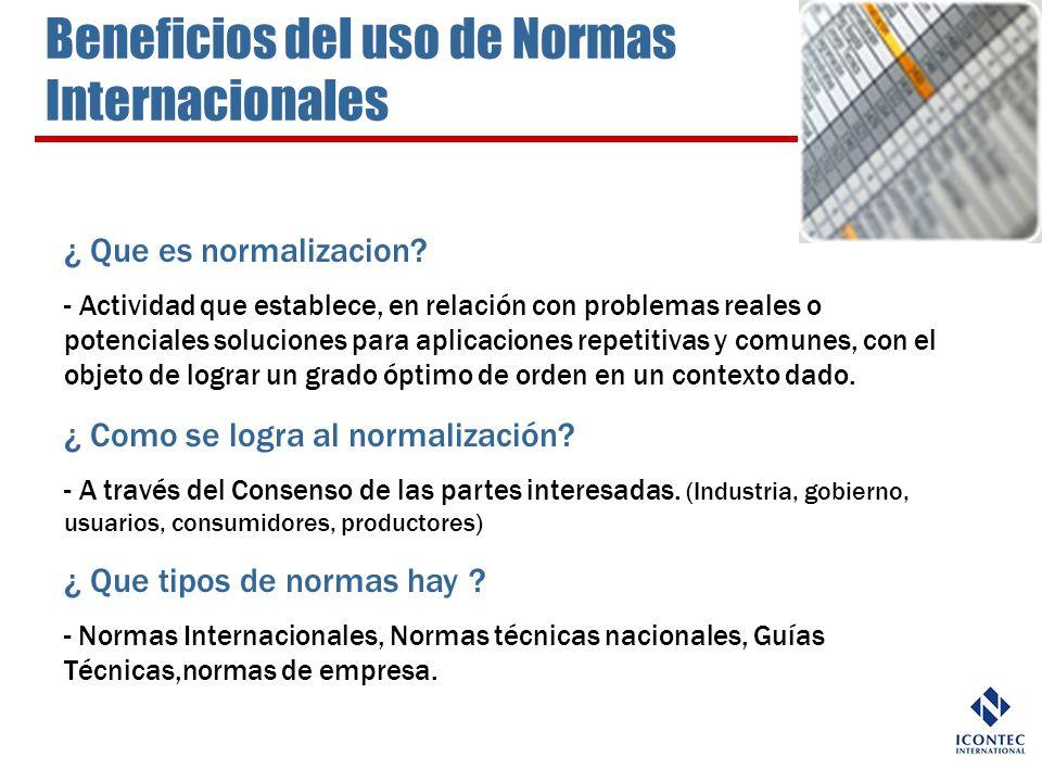 ¿ Que es normalizacion? - Actividad que establece, en relación con problemas reales o potenciales soluciones para aplicaciones repetitivas y comunes,