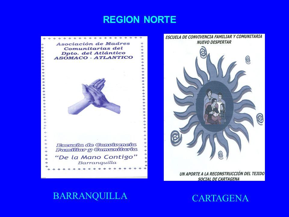 REGION NORTE BARRANQUILLA CARTAGENA