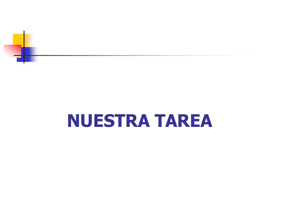 NUESTRA TAREA