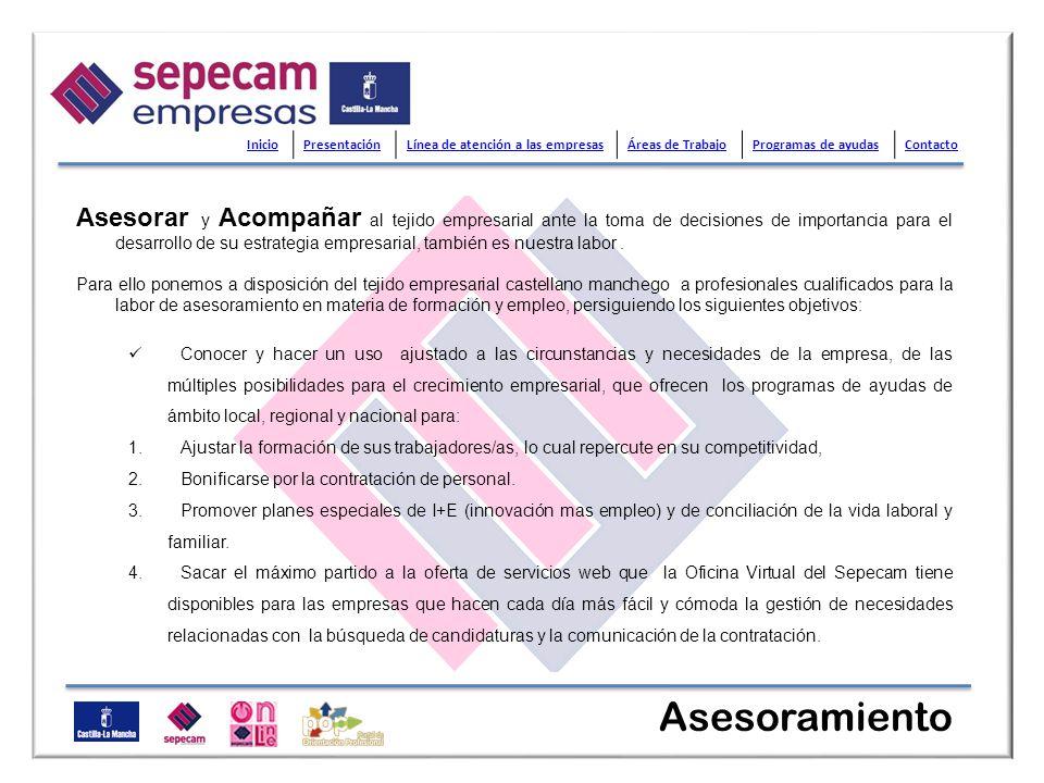 SEPECAM On Line, Oficina Virtual del Servicio Público de Empleo de Castilla-La Mancha, tiene como objetivo ofrecer a la ciudadanía un catálogo de servicios telemáticos que constituyan una alternativa a la realización de trámites y gestiones administrativas de carácter presencial, evitando así desplazamientos innecesarios a sus instalaciones.
