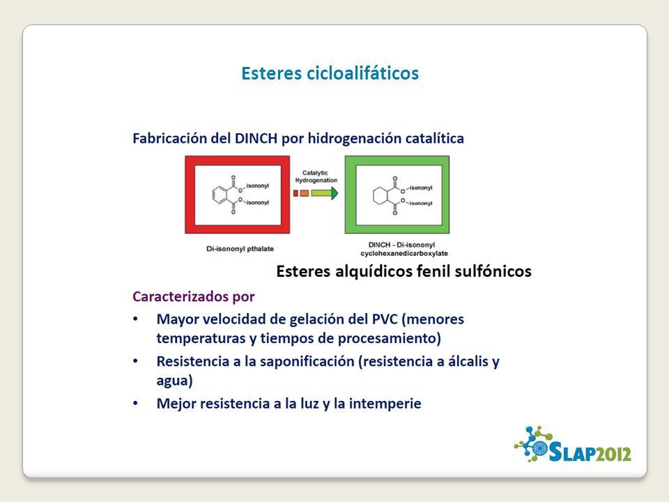 Esteres cicloalifáticos