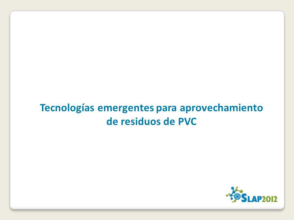 Tecnologías emergentes para aprovechamiento de residuos de PVC