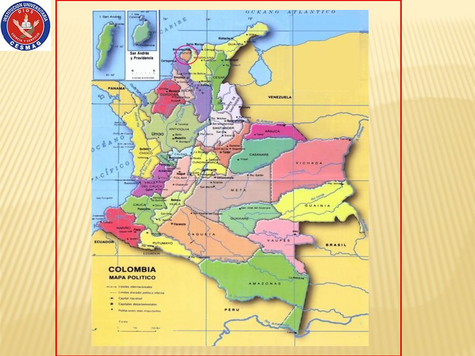 Pasto Cauca Putumayo Océano Pacifico Ecuador