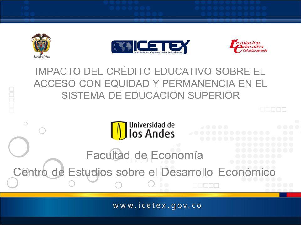 Propósito del Estudio de Impacto –¿El aumento del acceso a la educación superior para los estudiantes de escasos recursos.