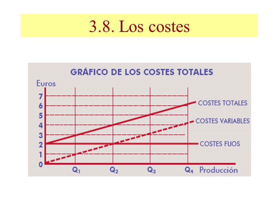 3.8. Los costes
