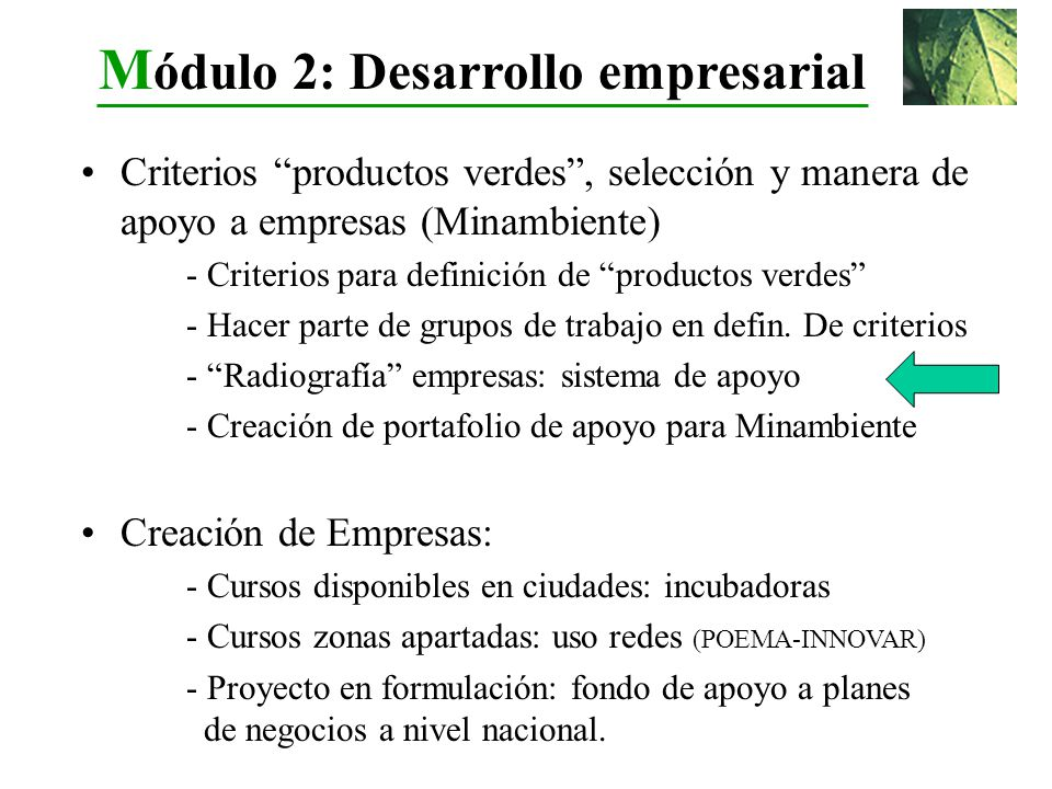 Criterios productos verdes, selección y manera de apoyo a empresas (Minambiente) - Criterios para definición de productos verdes - Hacer parte de grup