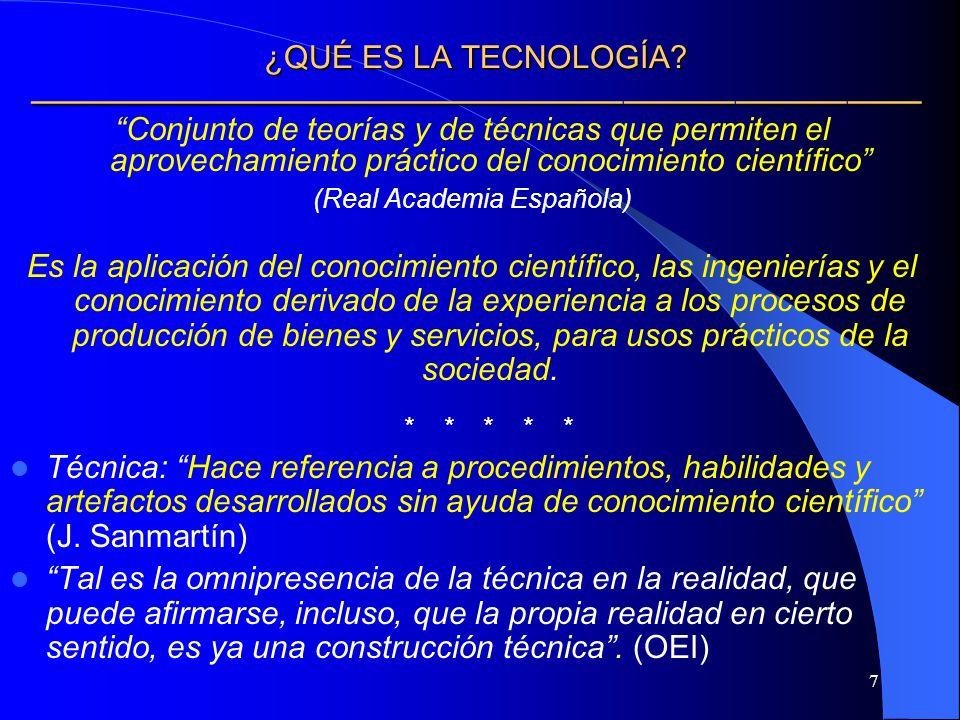 8 ¿CUÁL ES LA CONTRIBUCIÓN DE LA TECNOLOGÍA.¿CUÁL ES LA CONTRIBUCIÓN DE LA TECNOLOGÍA.